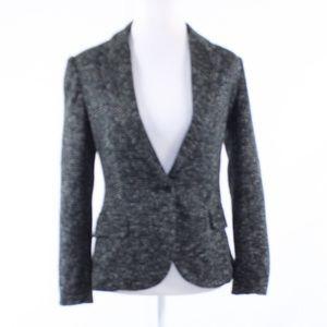 Anthropologie black long sleeve blazer jacket S